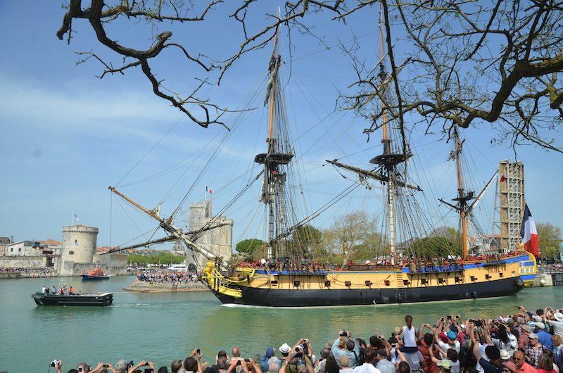 L'hermione à La Rochelle