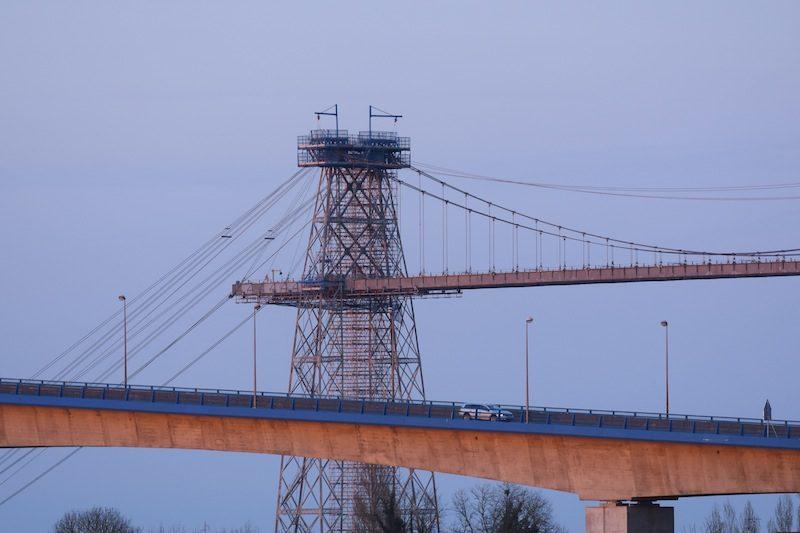 deux générations de ponts à Rochefort