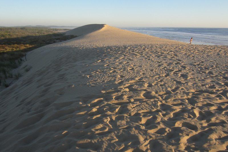 Dune à Saint Trojan
